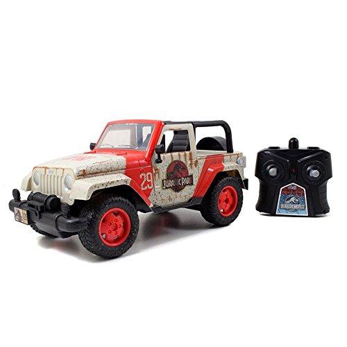 Jada Toys Jurassic World Jeep RC Vehicle 116 Scale