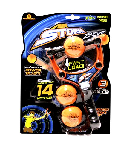 Zing Toys Air Storm Zing Shot Orange Black