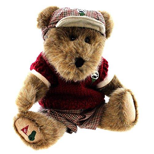 Boyds Bears Plush PUTTER T PARFORE 918339 Sports Golf Bear Ball Tee