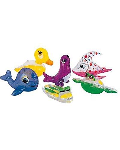 Kids Swimming Inflatable Sea Animals Set Pool Fun Toys 200-300mm