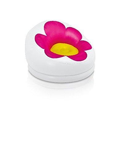 Intex Inflatable Blossom Chair For Kids Vivid Fuchsia 68574EP