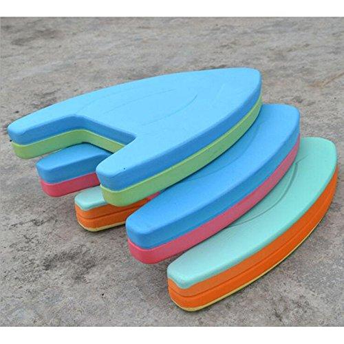 Dongcrystal Swimming Kickboard - Swimming Board Pool Training Aid Float Board Foam Color may vary