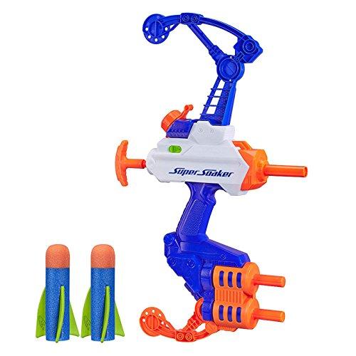 New NERF Super Soaker Water Blaster Kids Summer Pool Pump Squirt Gun Toy Bow