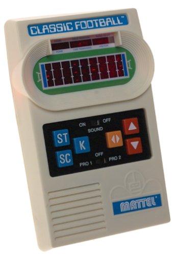 Mattel Classic Football Handheld Game