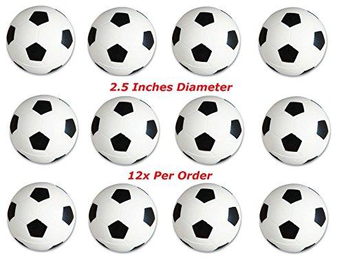 RINCO One Dozen 25 inches Soccer Stress Balls 12