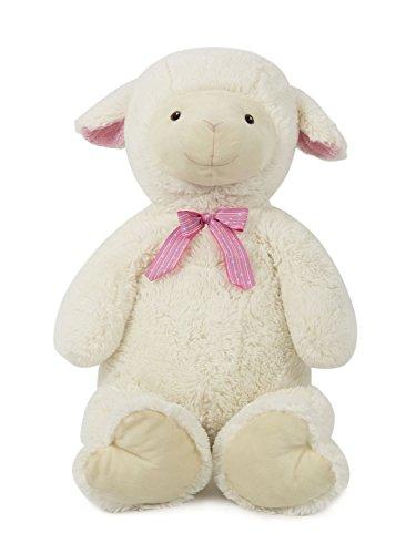 HollyHOME Soft Stuffed Animal Sheep Lamb Plush toy Christmas Birthday Gift 35 inches White