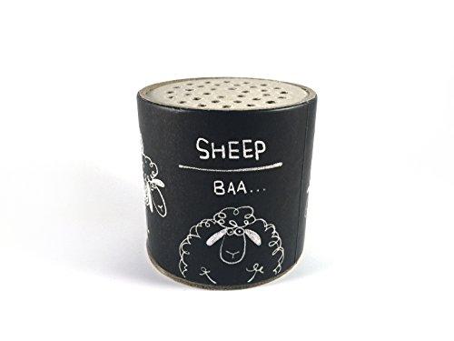 Zetti Animal Sound Maker Can Noise Maker Toy - Sheep Baa - Black