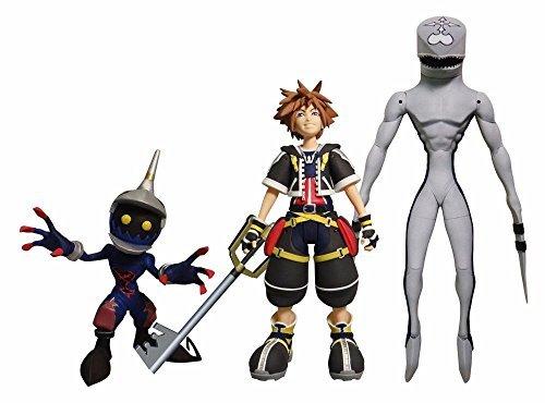 DIAMOND SELECT TOYS Kingdom Hearts Select Sora Dusk Soldier Action Figure Set