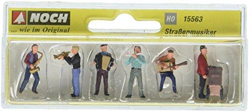 Noch 15563 Street Musicians 6 H0 Scale  Figures