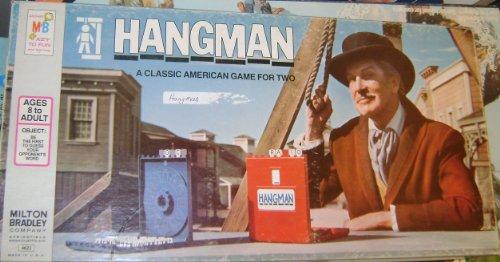 ORIGINAL VINTAGE 1976 HANGMAN CLASSIC ANTIQUE BOARD GAME-COLLECTIBLE TOY