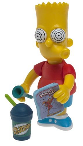 BRAIN FREEZE BART The Simpsons Series 16 World Of Springfield Interactive Figure