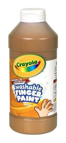 Binney Smith CrayolaR Washable Finger Paint 16 Oz Brown
