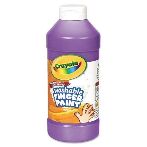 Crayola - Washable Fingerpaint Violet 16 oz 55-1316-040 DMi EA
