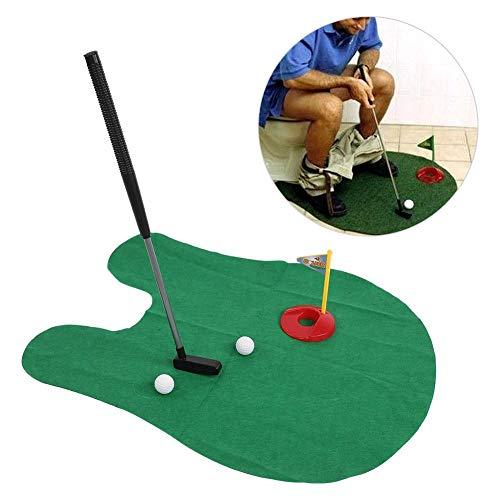 Potty Putter Set Toilet Golf Mini Golf Set for Toilet Time Golf Game for Men Women