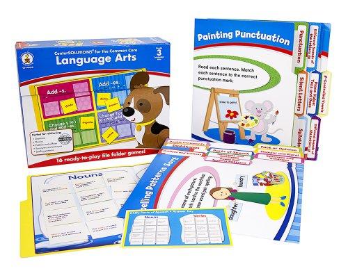 Carson Dellosa Language Arts File Folder Game 140312