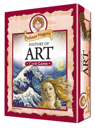Educational Trivia Card Game - Professor Noggins History of Art