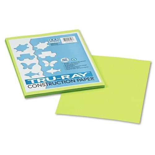 PaconTru-RayConstruction Paper Color Brilliant Lime Model PAC103423