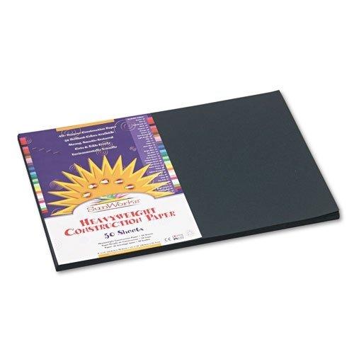 SunWorksConstruction Paper Color Black Model 24506