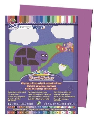 SunWorksConstruction Paper Color Magenta Model 9545609