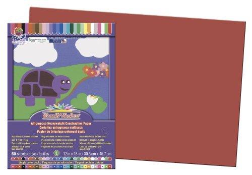 SunWorks All-purpose Construction Paper Color Red Model 9544230