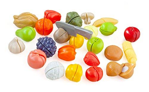 Casdon Cut Play Food Playset Multi