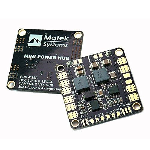 Crazepony Matek PDB Power Distribution Board 5V 12V BEC Output for FPV Multirotor Quadacopter  36mm36mm Version 31
