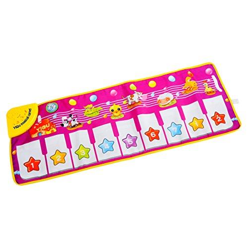 Piano Blanket Kids Petforu Musical Electronic Keyboard Mat Baby Activity Gym Fun Play Mats
