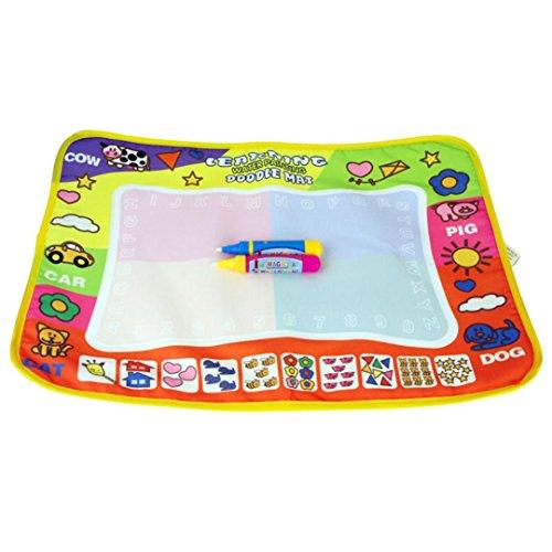 NOMENI Aqua Doodle Children Drawing Toys Mat Pen Educational Toy 1 Mat 2 Wate