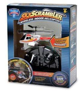 Sky Scrambler Wireless Indoor Helicopter by Sky Scrambler