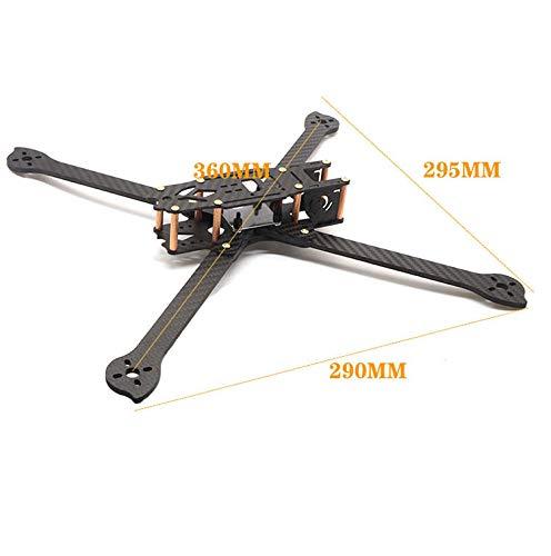 Usmile HSKRC XL8 360mm 8 inch Long Range Carbon Fiber FPV Racing Drone Quadcopter Quad Frame