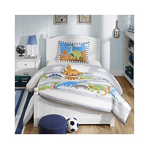 Mizone Kids Dinosaur Dreams 4 Piece Comforter Set Multicolor FullQueen