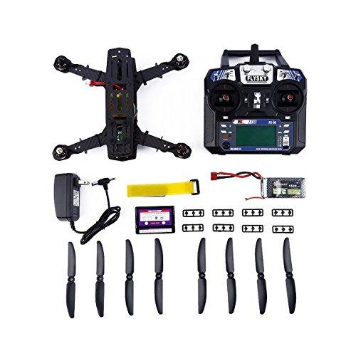 Carbon Fiber Mini 250 Quadcopter Frame Motor Flight Control Board Set carbon fiber black by LC Prime