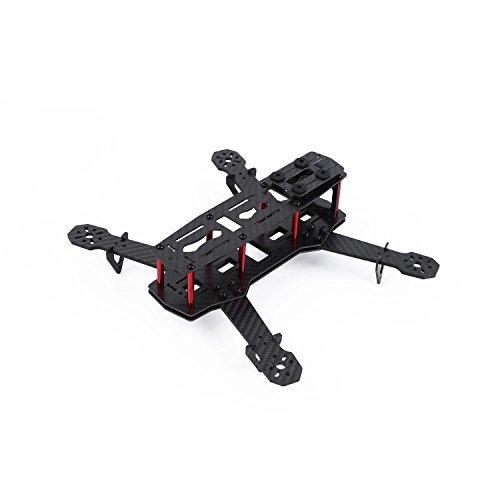 YKS Upgraded DIY Glass Carbon Fiber Mini 250 Quadcopter Frame Kit for FPV Quadcopter Part