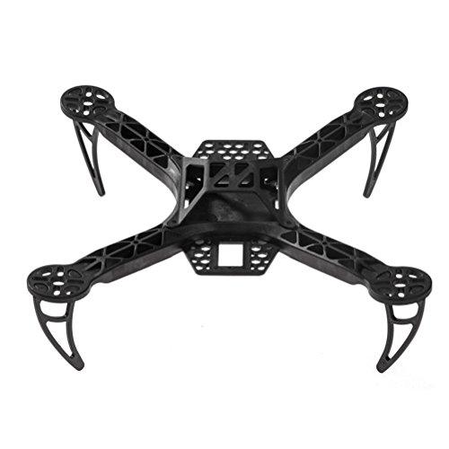 SODIALR Mini 250mm FPV250 Quad Copter FPV MultiRotor QAV Multicopter Frame Kit Black