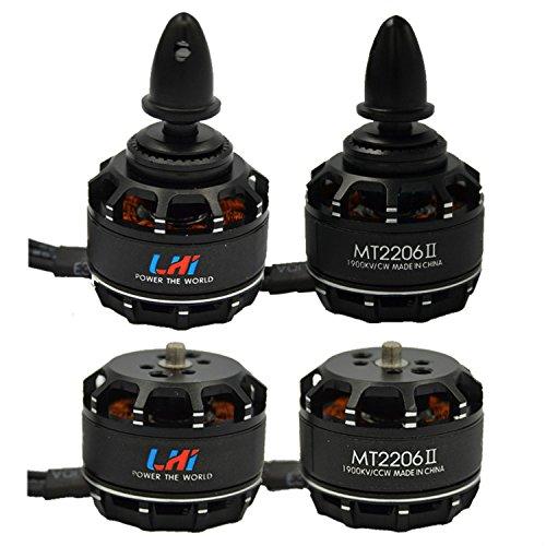 LHI 4pcs MT2206â…¡ 1900KV 2CW 2CCW Brushless Motor For FPV QAV250 RC Racing Quadcopter Multicopter