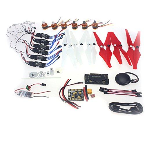 Generic Necessity kits 920KV Motor30A ESC9443 Props  APM28  GPS for 550 6-Aix RC Drone Quadcopter Hexacopter Multi-Rotor Aircraft