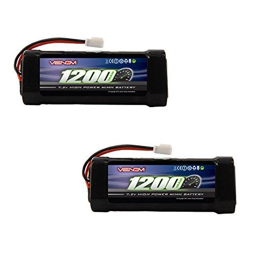 Venom 72v 1200mAh 6-Cell 23A NiMH Battery with Micro Molex Plug x2 Packs