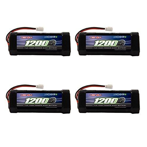 Venom 72v 1200mAh 6-Cell 23A NiMH Battery with Micro Molex Plug x4 Packs