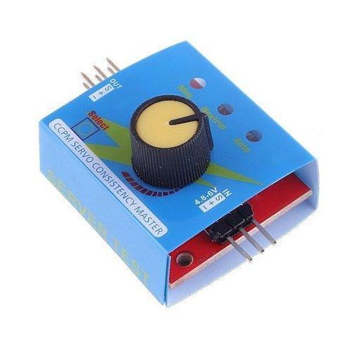 Servo Tester CCPM Consistency Master Checker 3CH 48-6V