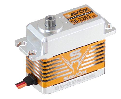Savox SB-2282SG High Voltage High Speed Brushless Motor Steel Gear Standard Size Digital Servo 00753194