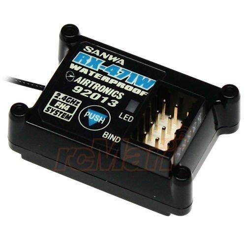 Sanwa 24GHz FH4 Waterproof Receiver EP 110 RC Car On Off Road Crawler RX-471W item G4W8B-48Q39250