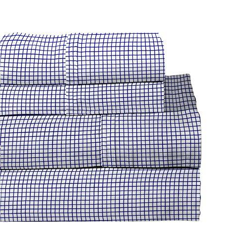 Lullaby Bedding 200-FAIR Airplanes Cotton Printed Sheet Set Full