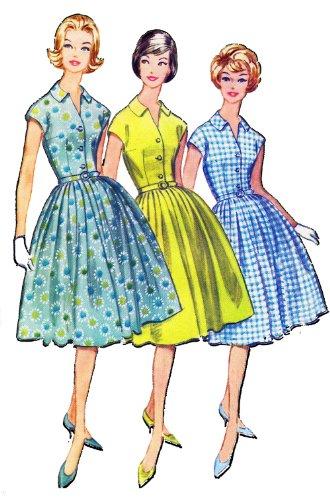 Vintage Fashion Girl - Fifties 02 25 x 35