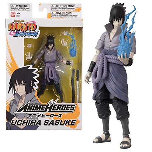 BANDAI 36902 Anime Heroes-Naruto 15cm Uchiha Sasuke-Action Figures