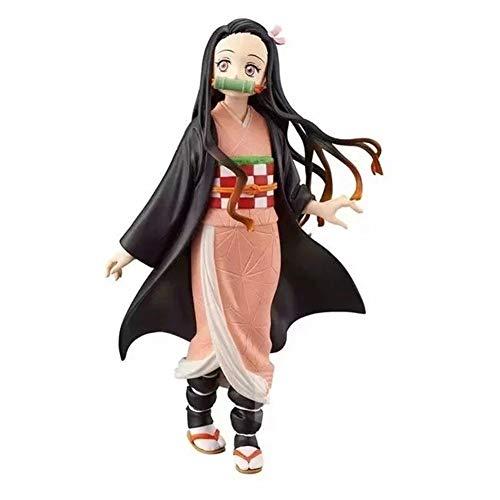 Joahoutfit Demon Slayer Kimetsu No Yaiba Figure Kamado Tanjirou&Kamado Nezuko Figure Anime Figure Action Figure Color  Mameko