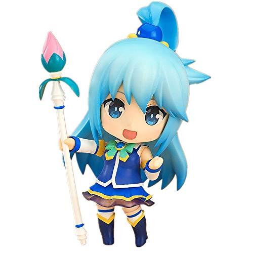 Joahoutfit New Konosuba Figure Aqua Figure Q Style Anime Figure Action Figure