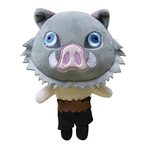 VinWin Demon Slayer Kimetsu no Yaiba Anime Character Plush Toy Doll 92 Cute Soft Stuffed Plush Figure Toy Home Sofa Decor Best Gift Collection Toy Hashibira Inosuke