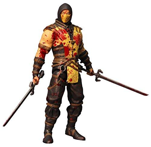 Mezco Toys Mortal Kombat X Scorpion Bloody Version 6 Action Figure