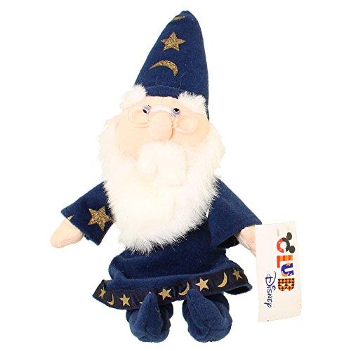 Disney Merlin Wizard Sword in the Stone Plush Bean Bag 10 Stuffed Animal Toy