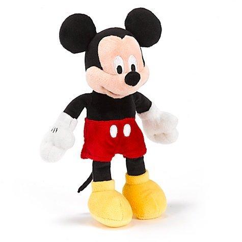 Disney Mickey Mouse 8 Inch Soft Plush Bean Bag Toy 20cm